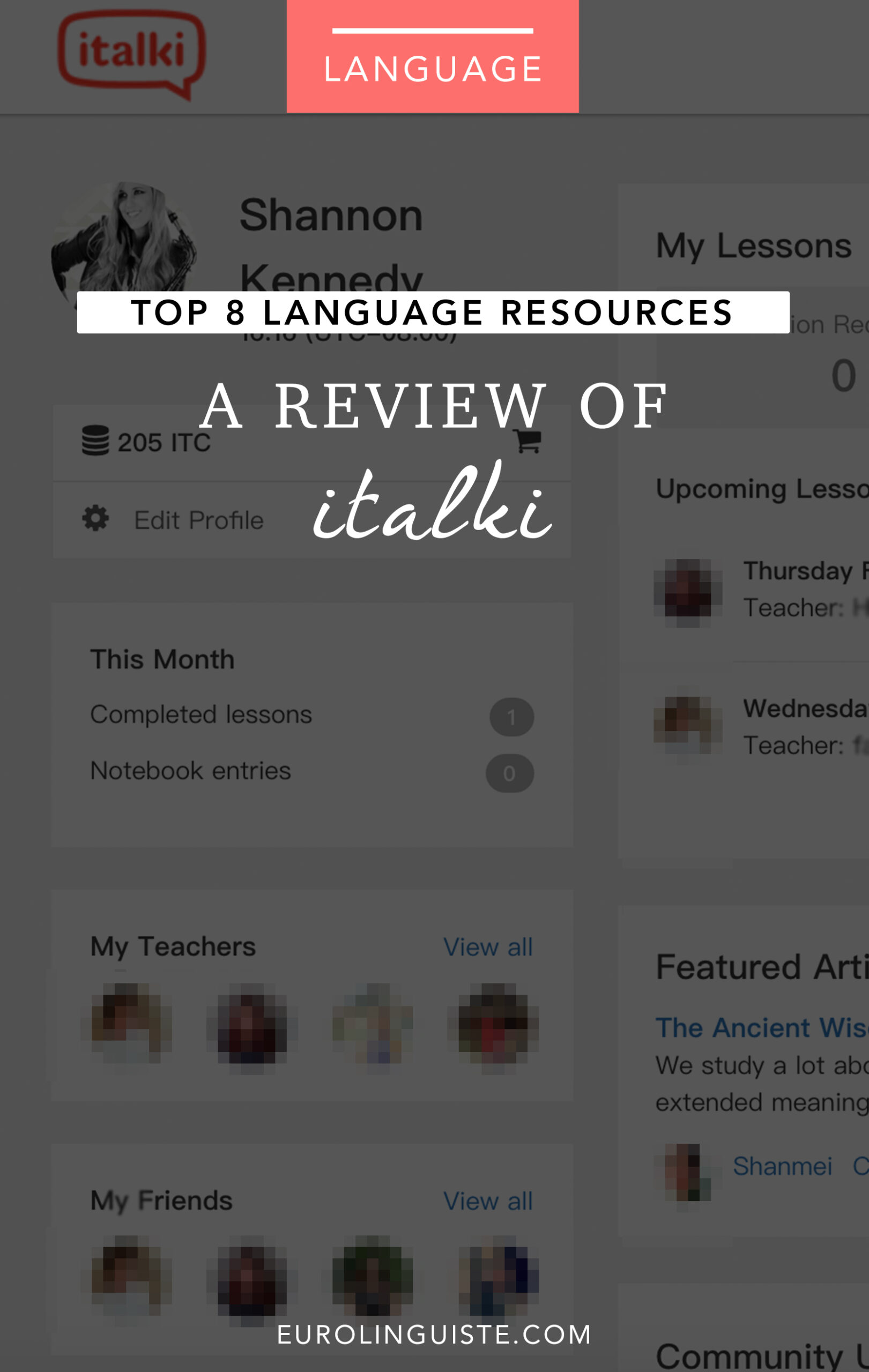 A Review of iTalki | Top 8 Language Learning Resources