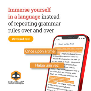 Immerse yourself in a language with Beelinguapp
